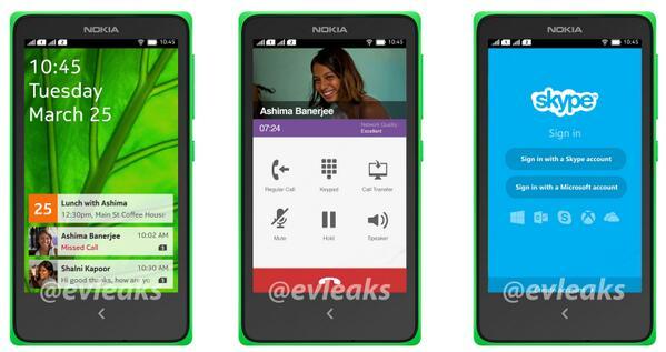 Nokia Normandy - zdroj @evleaks