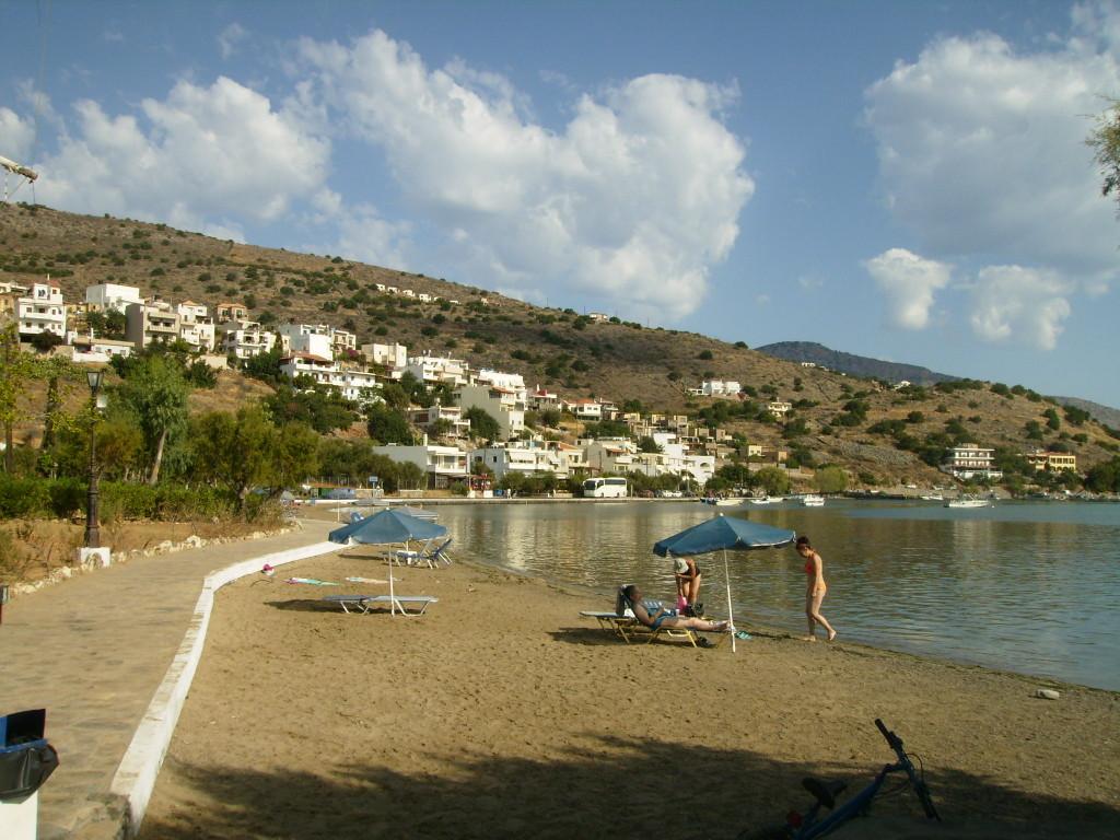 Písečná pláž na Krétě