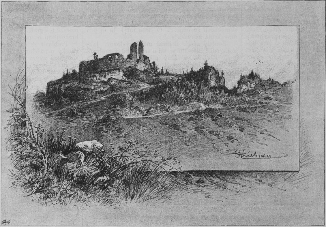 Brandys_nad_Orlici_ruin_1886_Liebscher