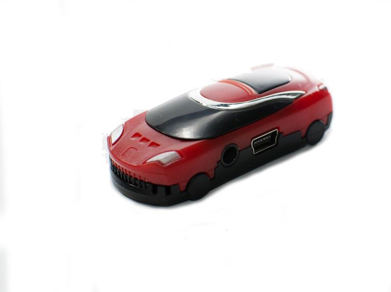 Pro menší děti MP3 bez  displeje v podobě auta či berušky