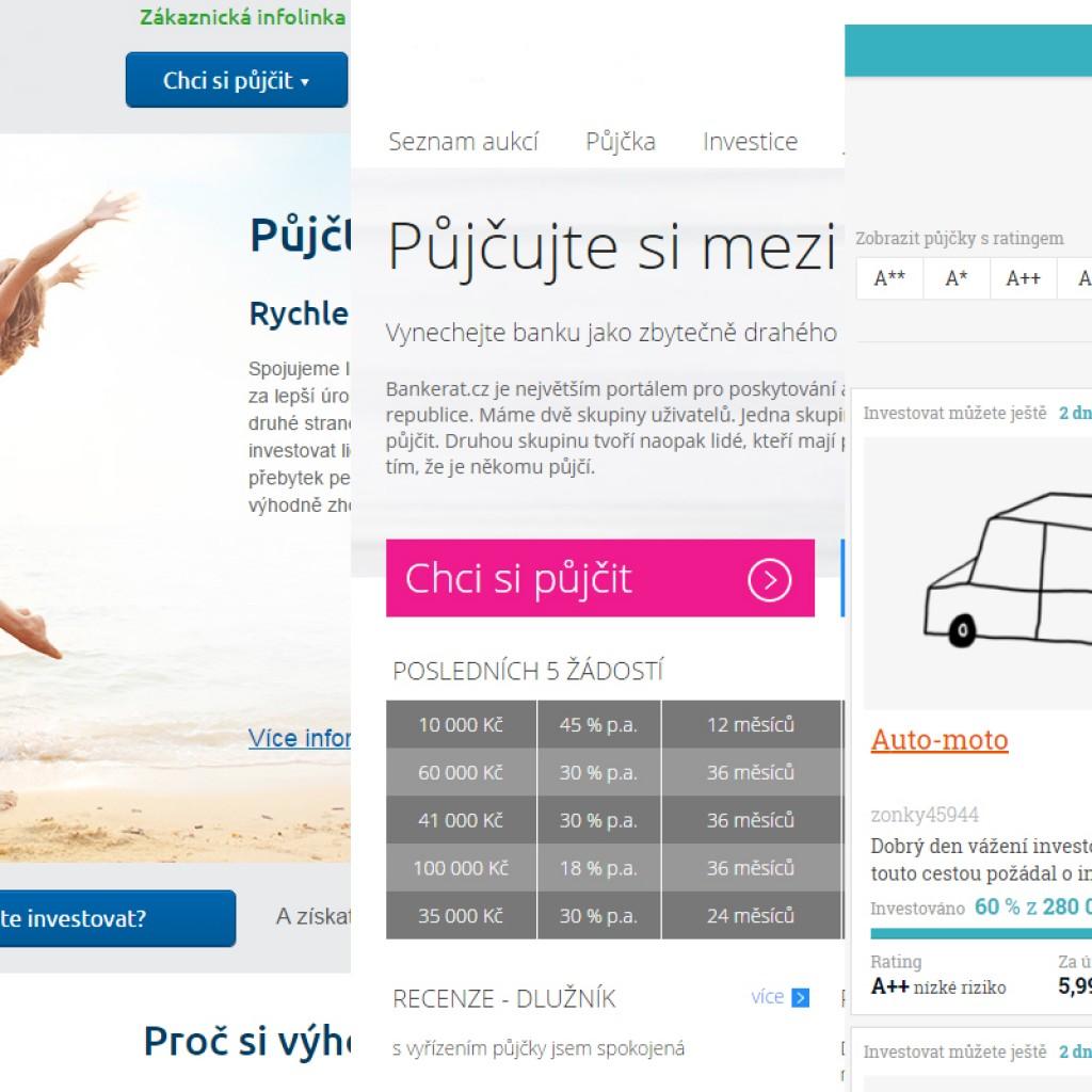 Srovnání P2P půjček v ČR
