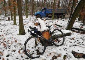 Zimní vyjížďka do lesů na Loučeni