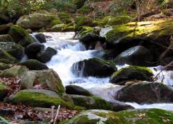 Darovský vodopád a vodopád Dírka