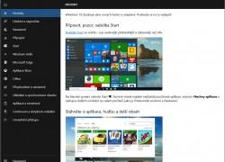 První zkušenosti s Windows 10